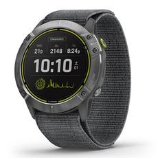 Garmin Watch Enduro GPS Steel with Gray Ultrafit Nylon Strap Chính Hãng