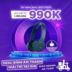 Tai nghe Bluetooth Sony WH-CH510 chính hãng