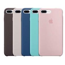 Ốp lưng Apple Silicon Case iPhone 7 Plus/8 Plus Cao Cấp (Hàng Nhà Máy)