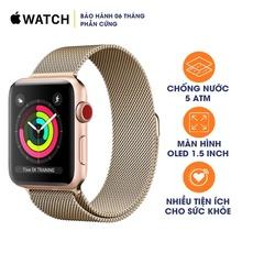 Apple Watch Series 3 LTE 42mm Aluminum Cũ