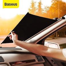 Màn kéo che nắng cửa kính trước dùng cho xe ô tô Baseus Auto Close Car Front Window Sunshade 58cm