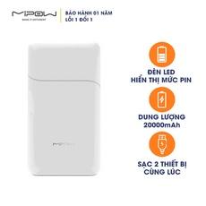 Pin Sạc Dự Phòng Mipow Power Cube 20000 mAh SPT07 - Hàng Chính Hãng Nguyên Hộp