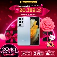 Samsung Galaxy S21 Ultra 5G - 12G/128GB Chính Hãng (Đã Kích Hoạt BHĐT)