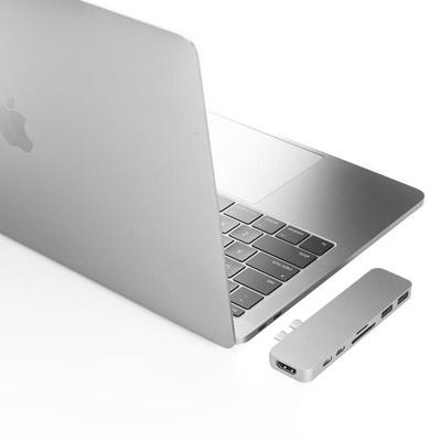 Cổng Chuyển HYPERDRIVE Duo USB-C - Hàng Chính Hãng Nguyên Hộp