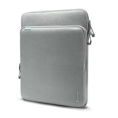 Túi Xách Chống Sốc Tomtoc (Usa) 360° Protection Premium Macbook Pro/air 13 Inch New Gray (Hàng Chính Hãng)