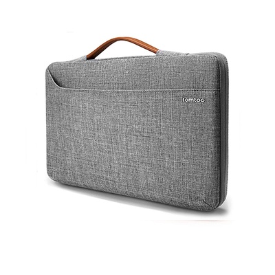 Túi xách chống sốc Tomtoc (USA) spill-resistant macbook 13 inch New Gray (A22-C02G01)
