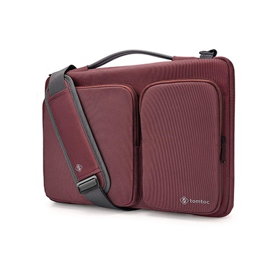 Túi Đeo Tomtoc Usa 360* Shoulder Bags Macbook 13 Inch Red (A42-CO1R)