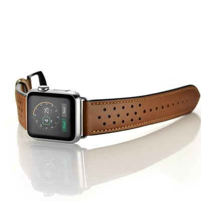 Dây đeo Jinya Vogue Leather cho Apple Watch - 42mm&44mm