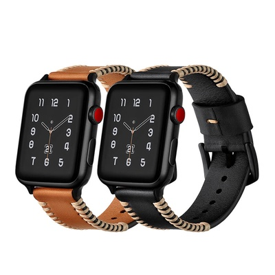 Dây đeo Jinya Style Leather cho Apple Watch - 42mm