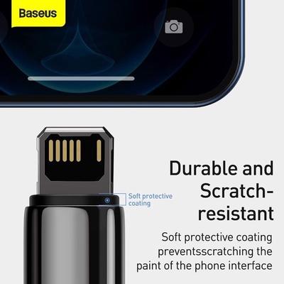Cáp Baseus Tungsten Gold Fast Charging USB-Lightning 2.4A (1m)