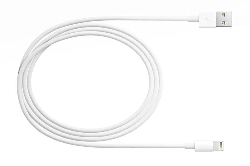 Dây cáp Lightning 2 m Apple MD819 - Gọn nhẹ dễ dàng mang theo bên mình