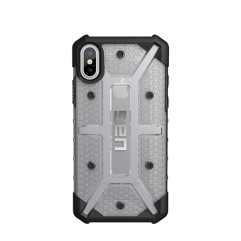 Ốp lưng iPhone X UAG Plasma Ice (Hàng Chính Hãng - Fullbox)