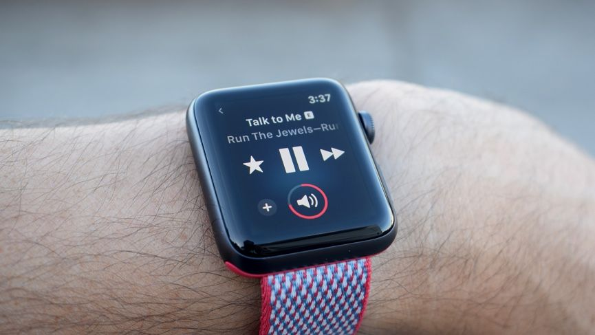 trải nghiệm âm nhạc apple watch 3 | dienthoaigiakho.vn