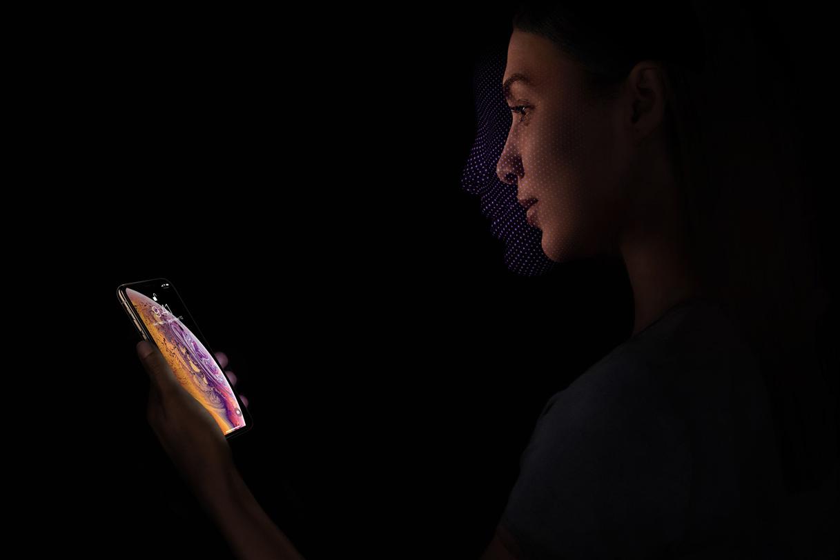 nhận diên khuôn mặt trên iphone Xs   dienthoaigiakho.vn