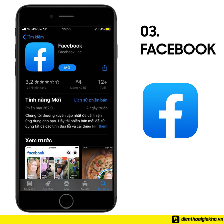Mạng xã hội facebook cung cấp cho bạn khả năng kết nối, kết bạn và nhận được hàng triệu thông tin mới mỗi ngày mà không cần đọc báo