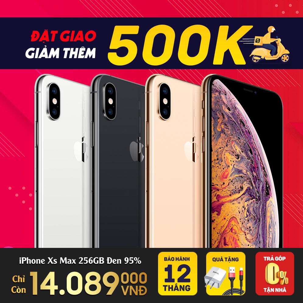 iphone xs max đặt online giảm thêm 500.000