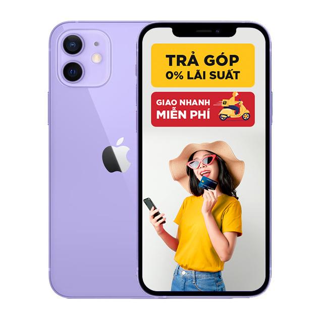 iPhone 12 Mini 64GB Chính Hãng (màu tím Purple - Mới ra mắt)