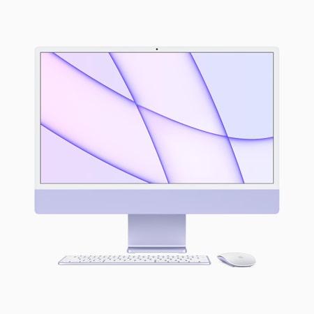 iMac 2021 M1 24 inch Retina 4.5K 8GPU/ 8G/ 256GB SSD Chính Hãng
