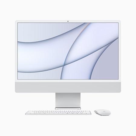 iMac 2021 M1 24 inch Retina 4.5K 7GPU/ 8G/ 256GB SSD Chính Hãng