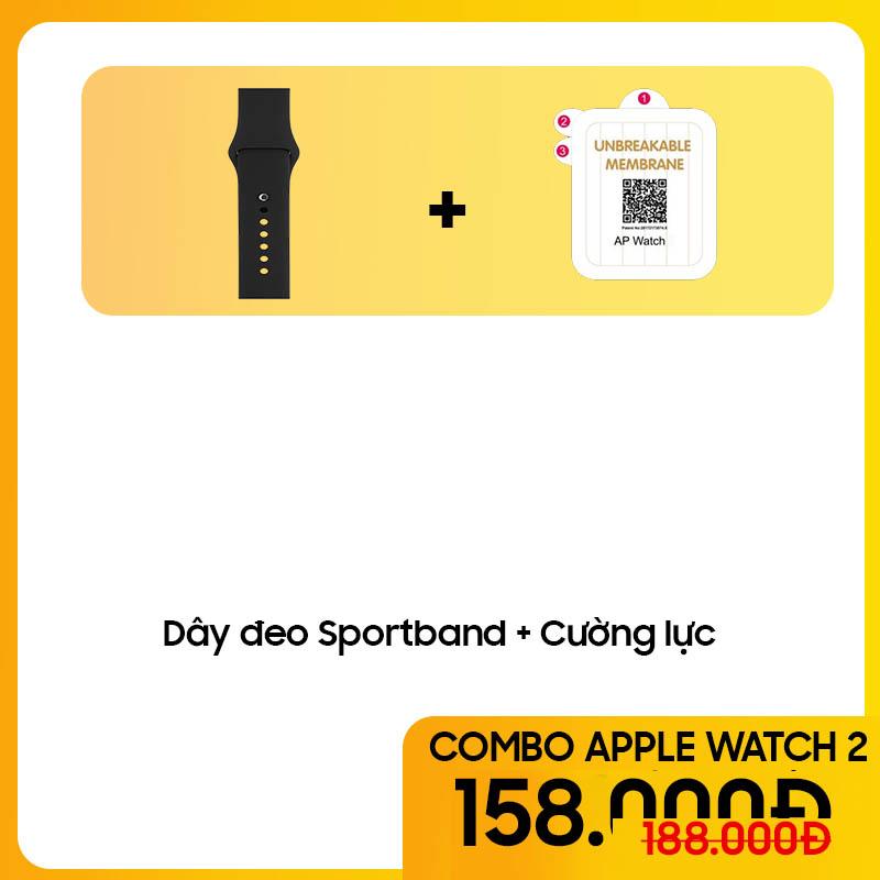 Bộ Combo Phụ Kiện Cho Apple Watch - COMBO 2