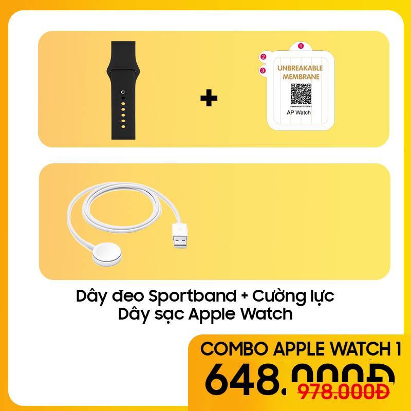 Bộ Combo Phụ Kiện Cho Apple Watch - COMBO 1