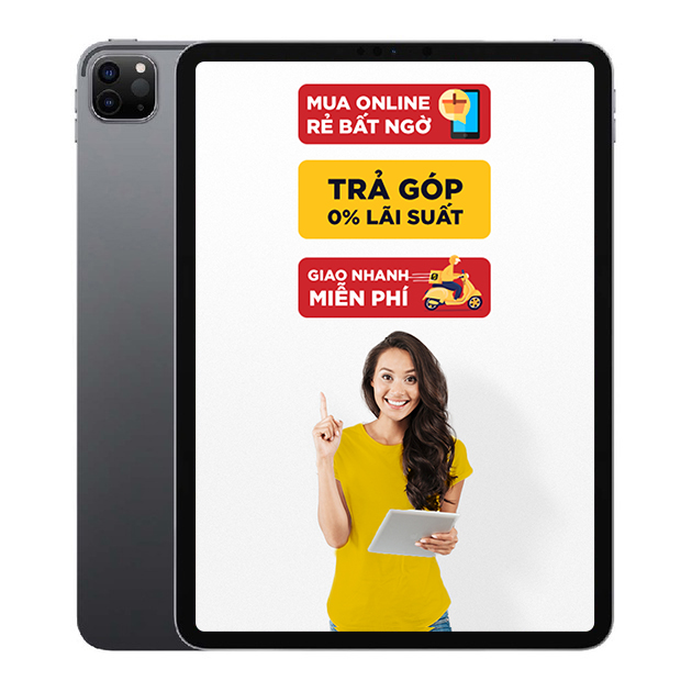 iPad Pro M1 11 inch 2021 Wifi Cellular 128GB Chính Hãng