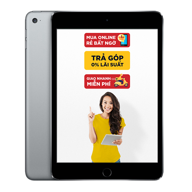 iPad Mini 4 Wifi Cellular 16GB Cũ 99%