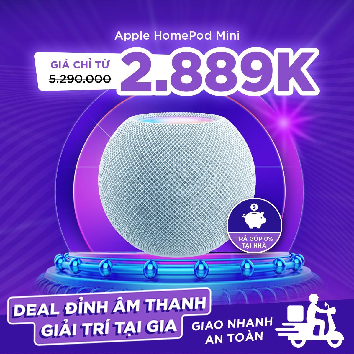 Loa Thông Minh Apple HomePod Mini Mới Chính Hãng