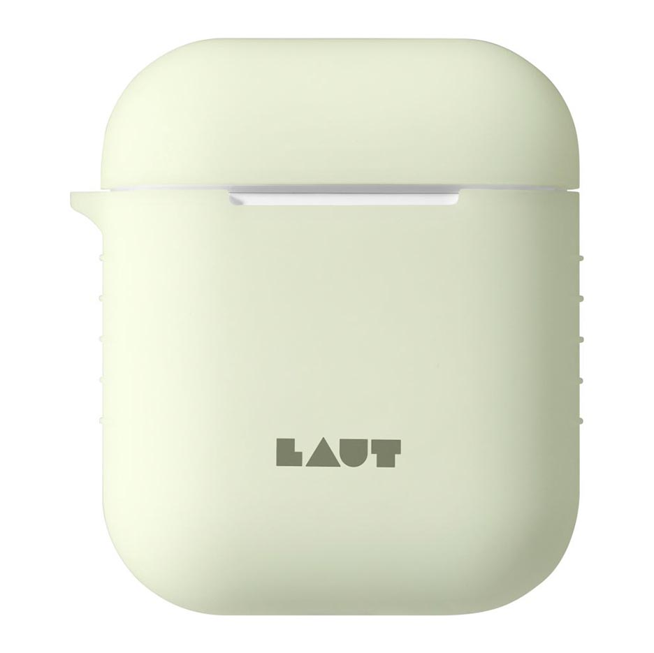 Ốp chống bẩn Airpods 2 LAUT (Dạ quang - Glow in the dark)
