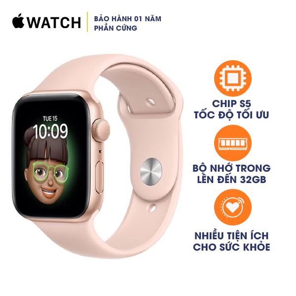 Apple Watch SE 44mm GPS Aluminum Case with Sport Band - Chính Hãng VN/A