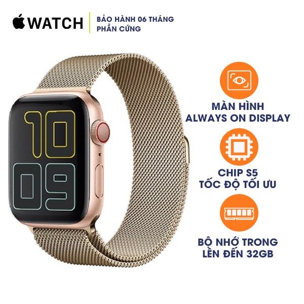 Apple Watch Series 5 44mm LTE Aluminum Cũ 99%