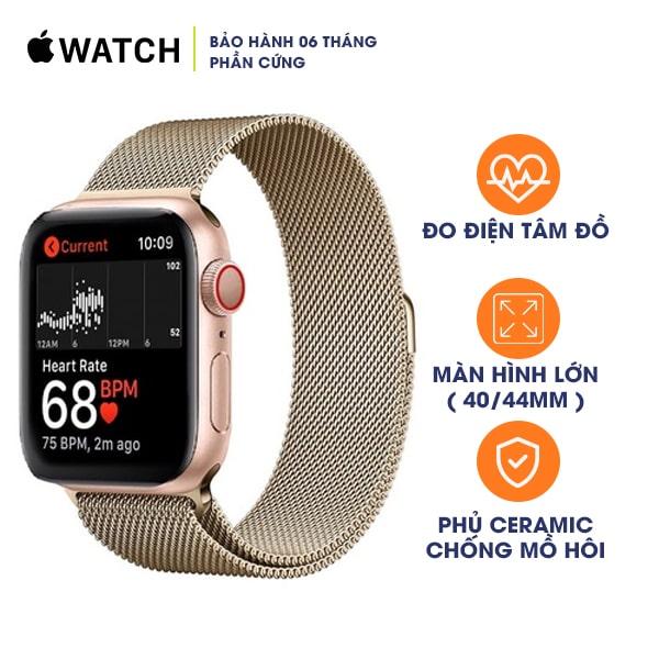 Apple Watch Series 4 40mm LTE Aluminum Cũ