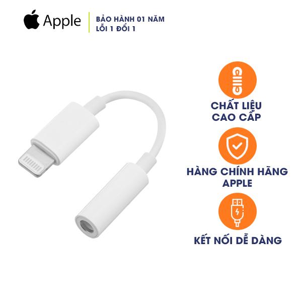 Dây Cáp Chuyển Đổi Lightning Sang 3.5mm Apple MMX62 (Hàng Chính Hãng)