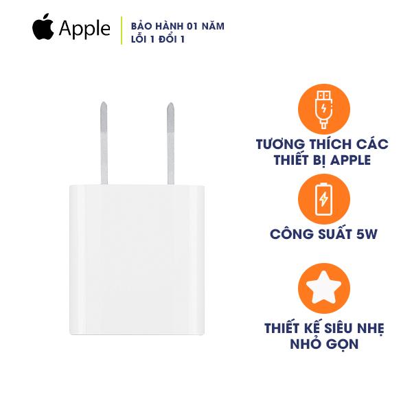 Sạc iPhone 5W chính hãng Apple
